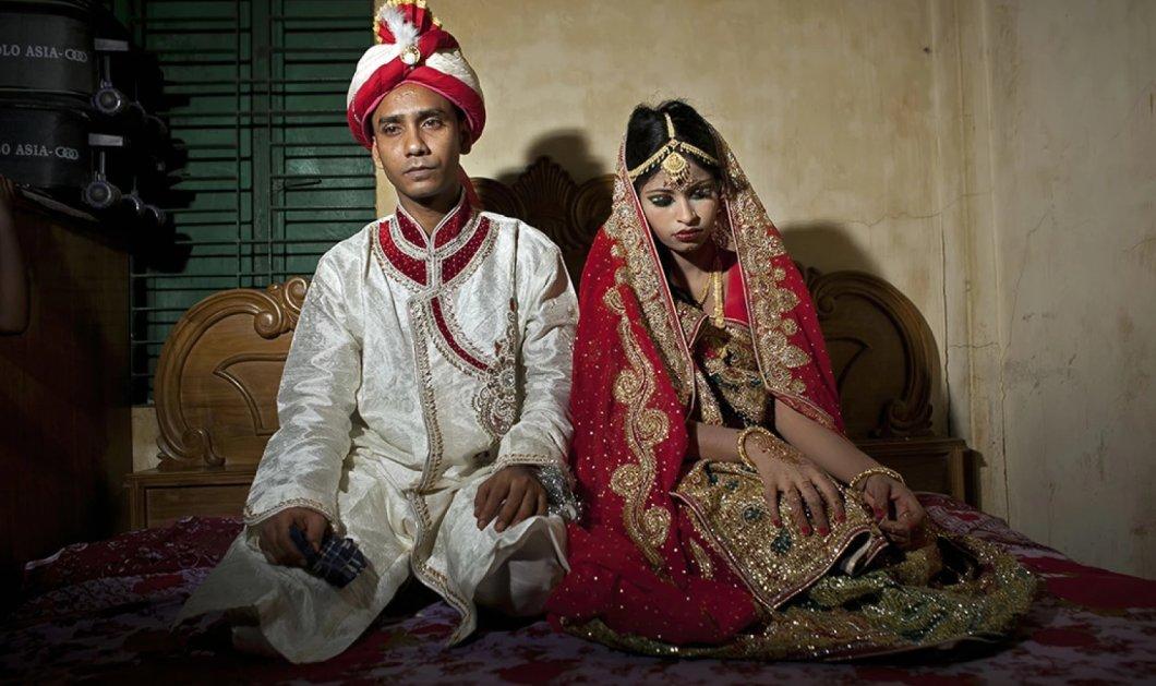 Συγκλονίζει η θλιμμένη 15χρονη νύφη στο Μπαγκλαντές: Εθιμο οι καταναγκαστικοί & παράνομοι γάμοι ανηλίκων - Κυρίως Φωτογραφία - Gallery - Video