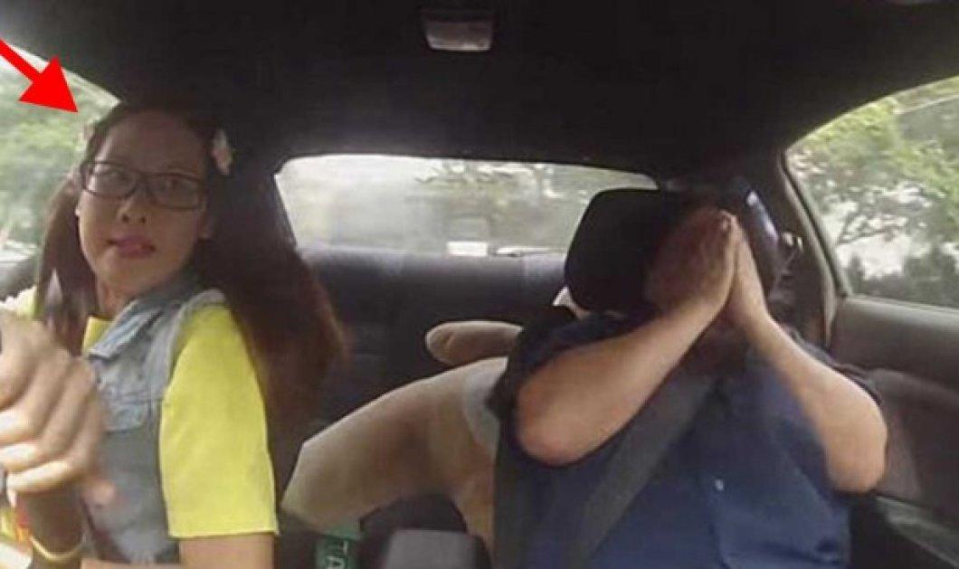 Βίντεο: Οδηγός αγώνων προσποιείται τη μαθήτρια στους εξεταστές για το δίπλωμα & προκαλεί... πανικό! - Κυρίως Φωτογραφία - Gallery - Video
