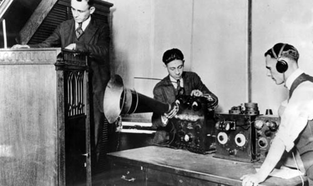Vintage story: Όταν το 1926 στήθηκε στην Θεσσαλονίκη το πρώτο ραδιόφωνο των Βαλκανίων - Να τα κλαπατσίμπαλα    - Κυρίως Φωτογραφία - Gallery - Video