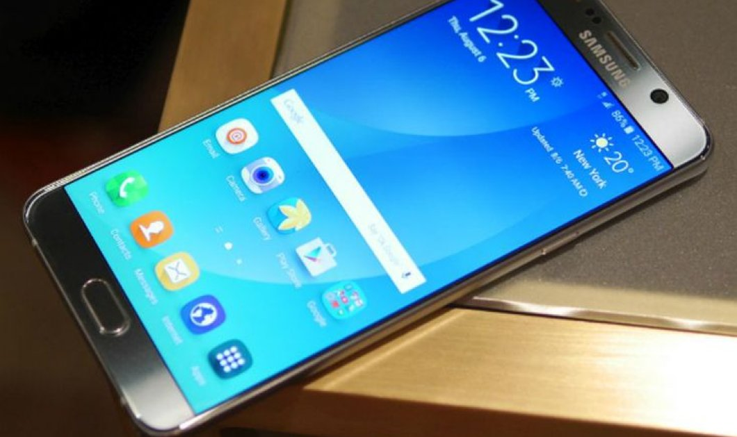 Βίντεο: Ιδού το κομψό το νέο Samsung Galaxy Note 5 -  Έγινε η παρουσίαση του   - Κυρίως Φωτογραφία - Gallery - Video