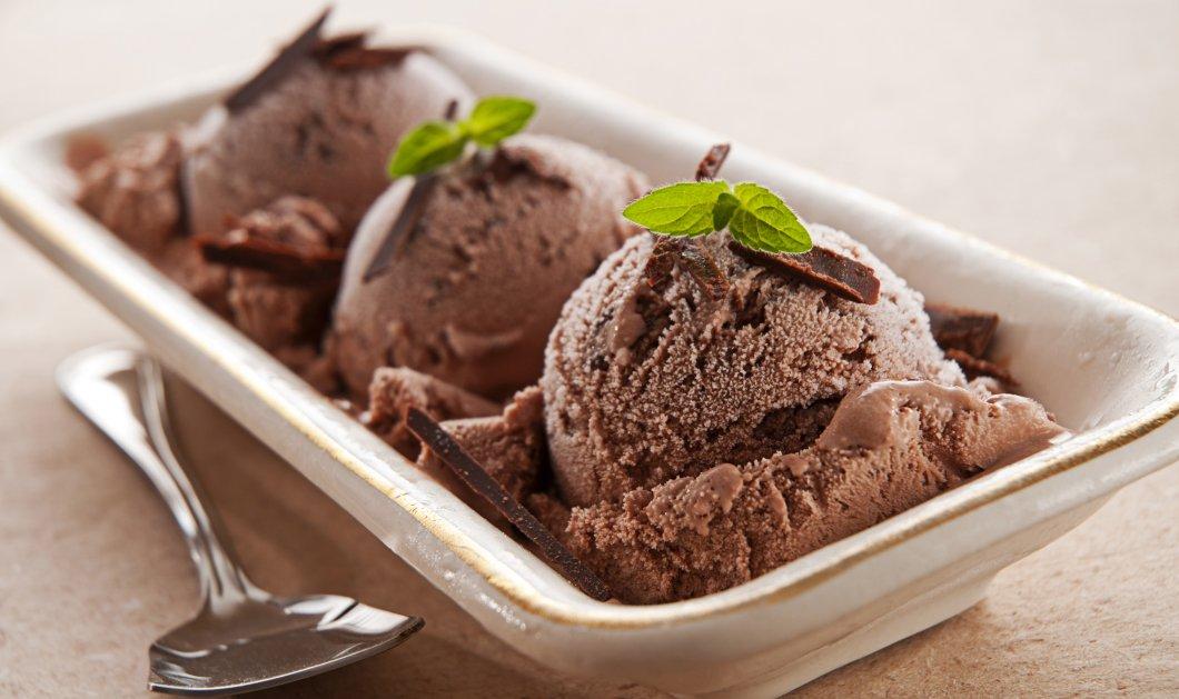 Καταπληκτικό παγωτό πικρή σοκολάτα µε µπαχαρικά - Σούπερ ιδέα! - Κυρίως Φωτογραφία - Gallery - Video