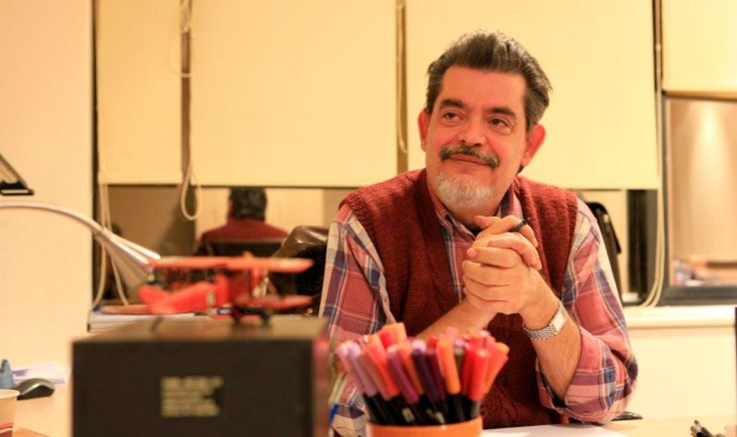 Λαϊκή Ενότητα: Επικεφαλής στο ψηφοδέλτιο Επικρατείας ο σκιτσογράφος Στάθης Σταυρόπουλος - Κυρίως Φωτογραφία - Gallery - Video