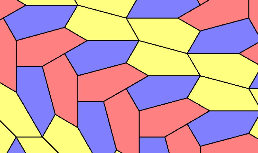 """Σπουδαία ανακάλυψη: Νέο μαθηματικό """"πλακάκι""""- πεντάγωνο - χαράς ευαγγέλια για αρχιτέκτονες, βιολόγους, μαθηματικούς ύστερα από έναν αιώνα - Κυρίως Φωτογραφία - Gallery - Video"""