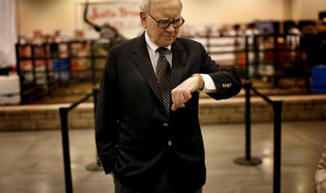Ο Γουόρεν Μπάφετ από τους 5 πλουσιότερους στον κόσμο, έκανε το μεγαλύτερο ντιλ στην ιστορία της εταιρείας του    - Κυρίως Φωτογραφία - Gallery - Video