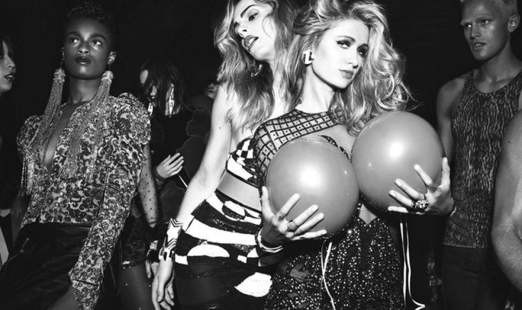 Μάιλι Σάιρους & Πάρις Χίλτον: Οι εικόνες των οργίων τους σε πάρτι με απ' όλα   - Κυρίως Φωτογραφία - Gallery - Video