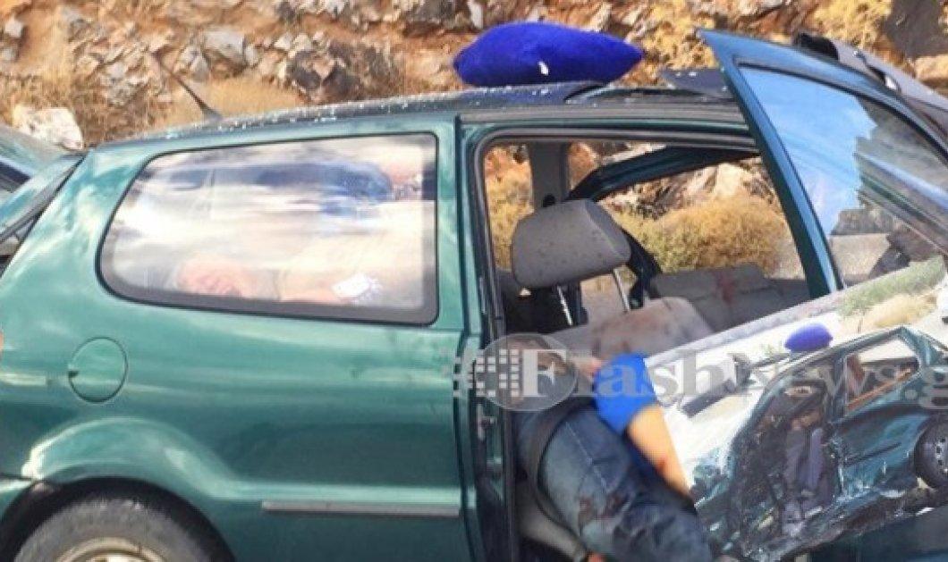 Ρέθυμνο: Σκληρές εικόνες μετά από τροχαίο δυστύχημα στο Μπαλί - Κυρίως Φωτογραφία - Gallery - Video