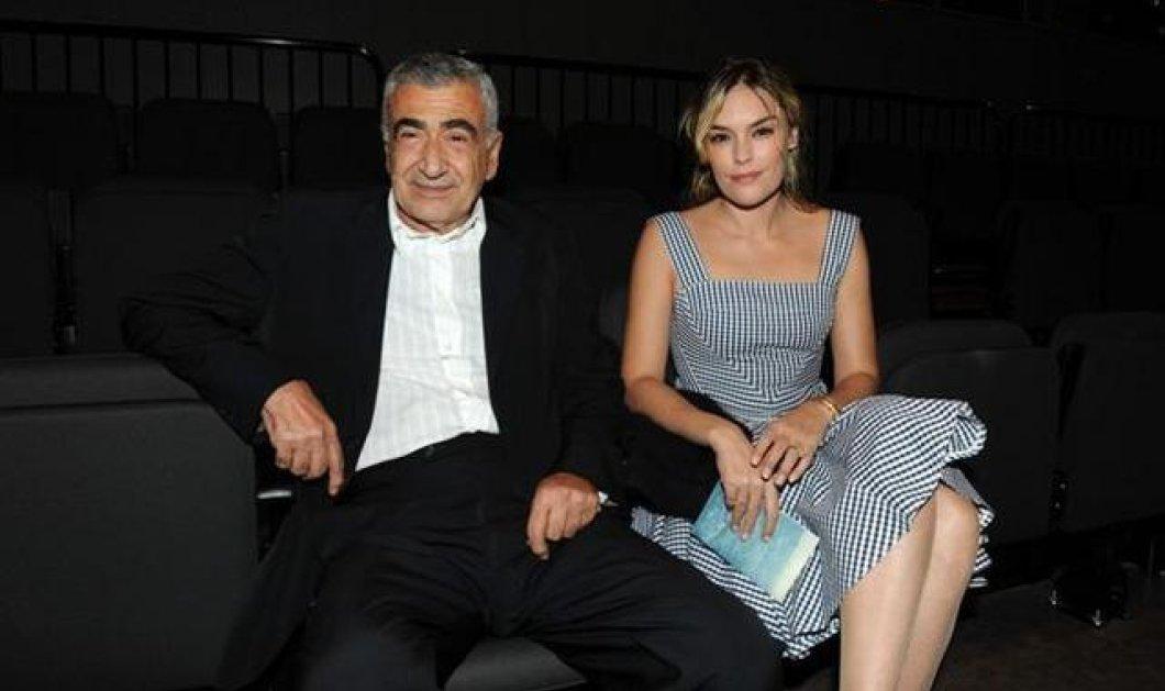 Ο Γιώργος Βογιατζής σε σπάνια εμφάνιση με την κατά 30 χρόνια νεότερη του σύζυγο Ντιάνα Σκόριτς - Κυρίως Φωτογραφία - Gallery - Video