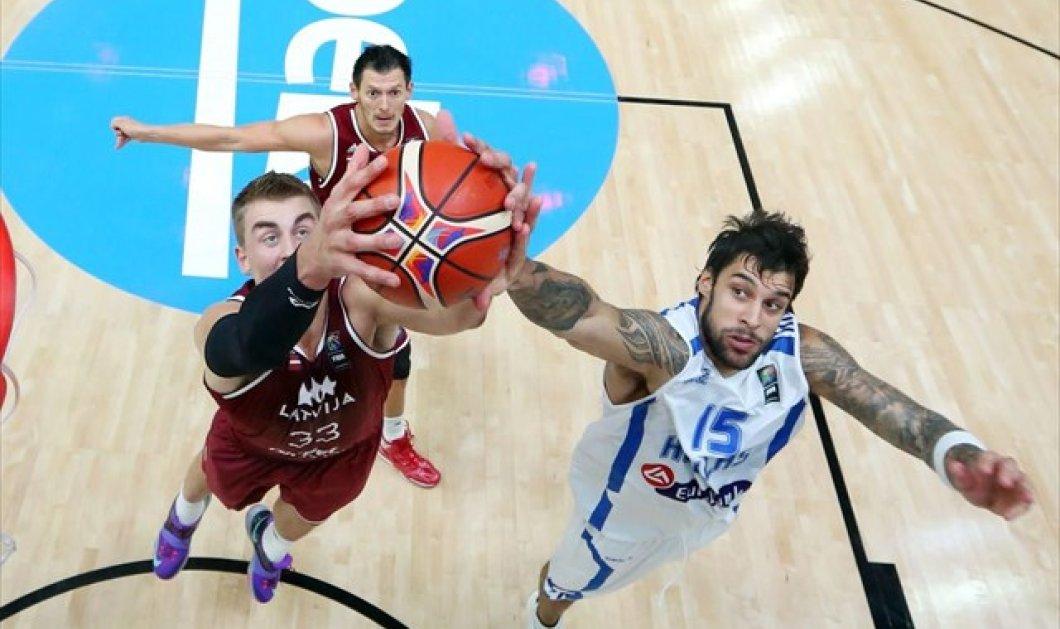 Η Εθνική νίκησε με 97-90 τη Λετονία & εξασφάλισε το εισιτήριο για το Προολυμπιακό τουρνουά - Κυρίως Φωτογραφία - Gallery - Video