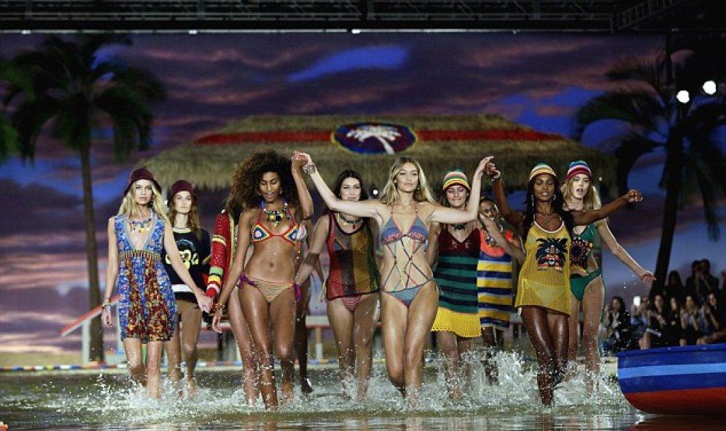 Νέα Υόρκη Εβδομάδα Μόδας: Ξεσήκωσαν τα πλήθη οι αδελφές Gigi & Bella Hadid με τα ζουμερά, θηλυκά σώματα & τα νάζια τους  - Κυρίως Φωτογραφία - Gallery - Video