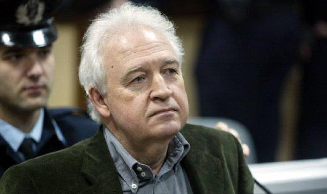Ο τρομοκράτης & καταδικασμένος 17 φορές σε ισόβια Γιωτόπουλος συνεχίζει την απεργία πείνας- Τι λέει ο αρχηγός της 17Ν;    - Κυρίως Φωτογραφία - Gallery - Video