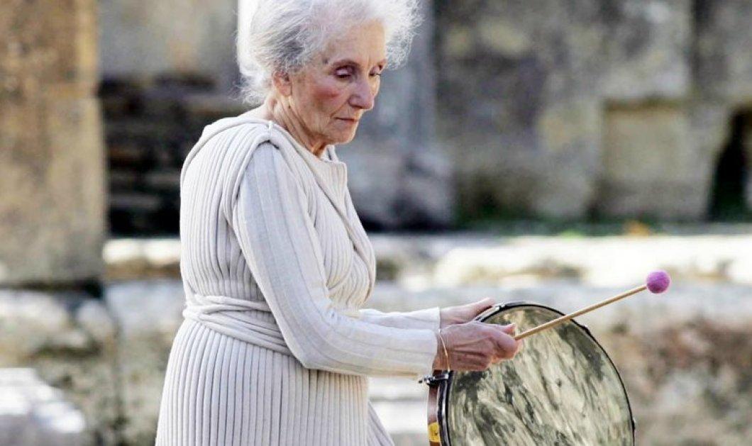 Έφυγε από τη ζωή η Μαρία Χορς: Ήταν 94 η κορυφαία Ελληνίδα χορογράφος των Τελετών Αφής της Ολυμπιακής Φλόγας   - Κυρίως Φωτογραφία - Gallery - Video