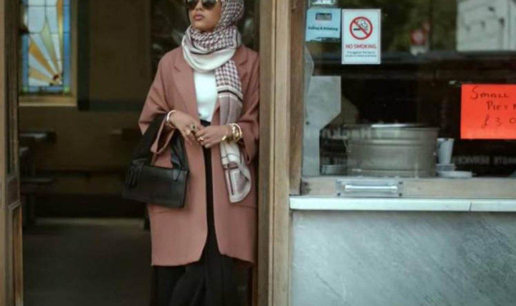 Πανέμορφο είναι το πρώτο μοντέλο της H&M που φοράει μαντήλα & εντυπωσιάζει (Φωτό - βίντεο) - Κυρίως Φωτογραφία - Gallery - Video