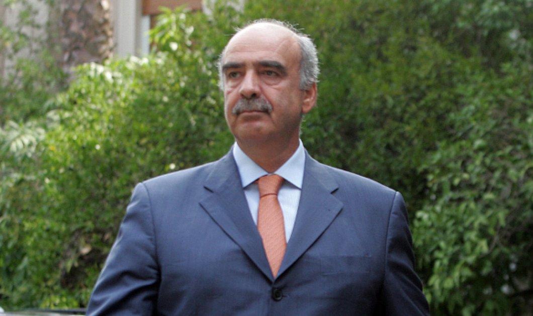 Ισχυρή εντολή για κυβέρνηση με κορμό τη Νέα Δημοκρατία ζήτησε ο Ευ. Μεϊμαράκης - Κυρίως Φωτογραφία - Gallery - Video
