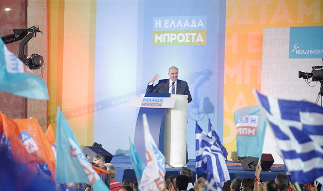 Μεϊμαράκης: Το μόνο νέο που έφερε ο ΣΥΡΙΖΑ ήταν τα capital controls - Στέλνουμε παντού μήνυμα ομόνοιας - Κυρίως Φωτογραφία - Gallery - Video