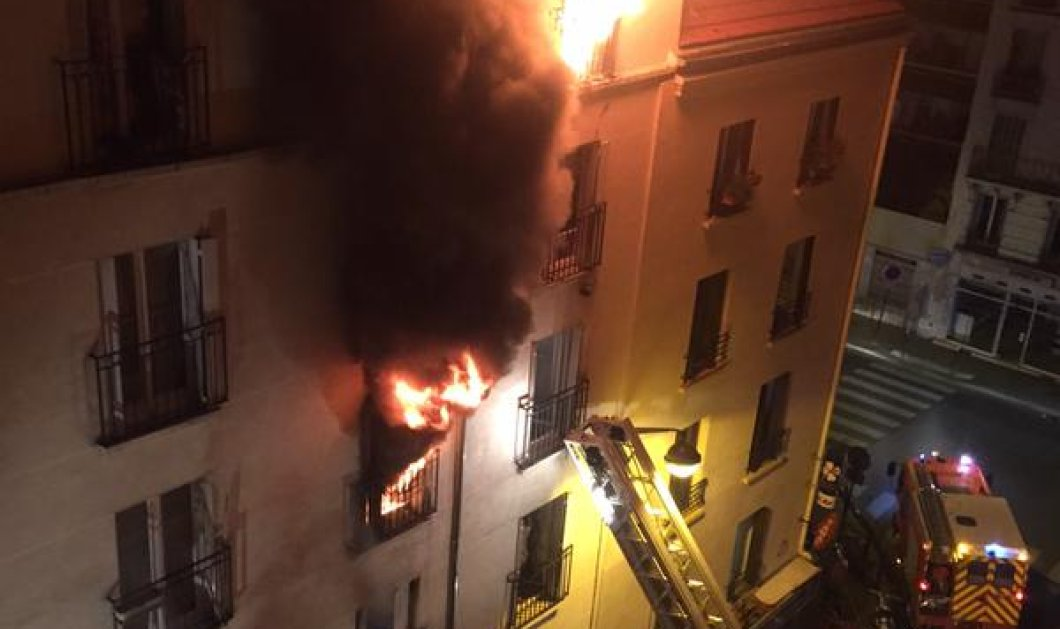 Νύχτα τρόμου στο Παρίσι με πυρκαγιά: Κόστισε τη ζωή σε 8  - 2 παιδιά ανάμεσα τους  - Κυρίως Φωτογραφία - Gallery - Video