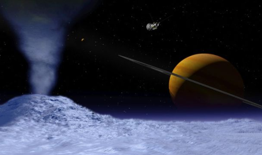 Τεράστιος υπόγειος ωκεανός στον δορυφόρο Εγκέλαδο του Κρόνου - Τι λένε οι επιστήμονες;     - Κυρίως Φωτογραφία - Gallery - Video