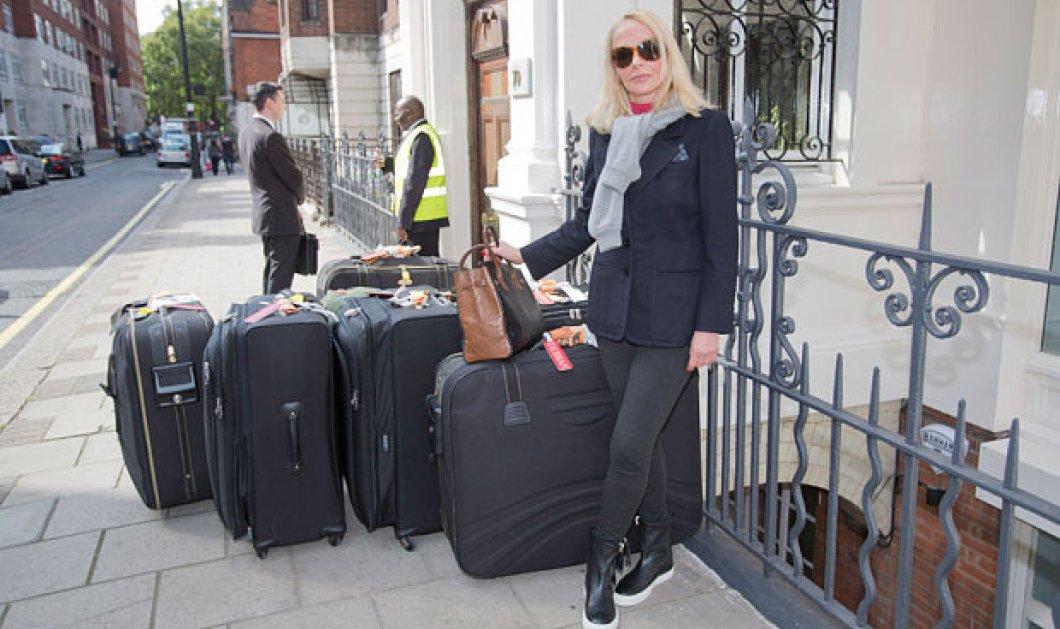 Πέταξαν έξω από το σπίτι της την χήρα του Mr Sotheby's - Τα 3 παιδιά του συζύγου της την άφησαν στο δρόμο με τις βαλίτσες - Φώτο  - Κυρίως Φωτογραφία - Gallery - Video