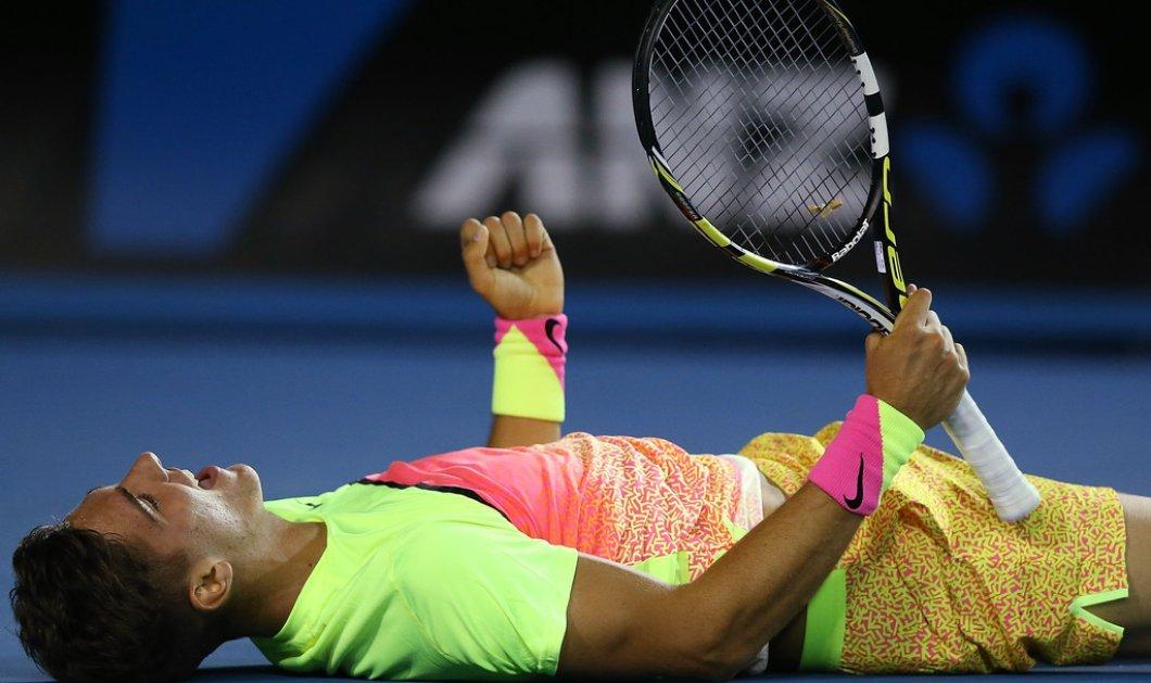Θανάσης Κοκκινάκης: Το νέο αστέρι του παγκόσμιου τένις στην Ελλάδα από τον OTE TV  - Κυρίως Φωτογραφία - Gallery - Video
