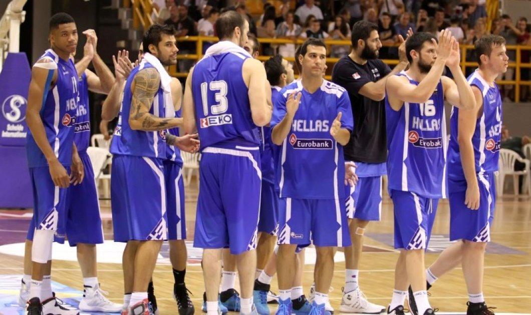 Μπράβο παιδιά! Στους «16» του Ευρωμπάσκετ η Εθνική μας - κέρδισε και τη Γεωργία! - Κυρίως Φωτογραφία - Gallery - Video