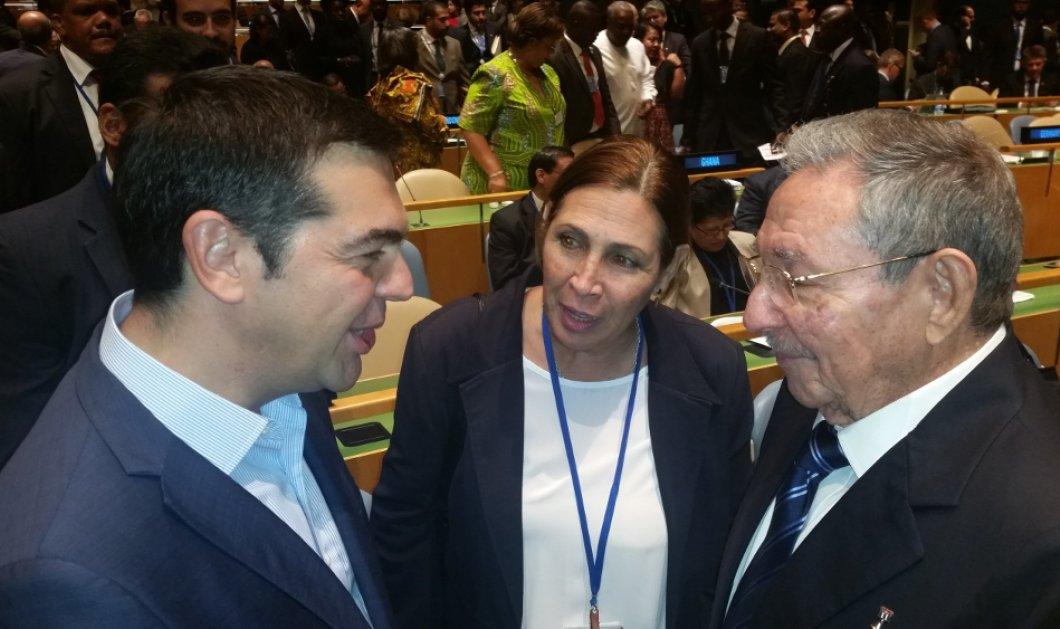 Ο Τσίπρας είδε τον Ρ. Κάστρο - Πήρε ανοικτή πρόσκληση για Κούβα - Στο περιθώριο της Γενικής Συνέλευσης του ΟΗΕ - Κυρίως Φωτογραφία - Gallery - Video