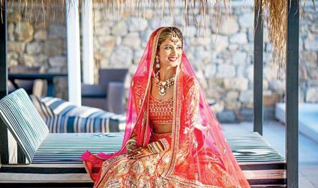 Ο παραμυθένιος γάμος των Ινδών στη Μύκονο με τριήμερο γλέντι, επίχρυσα μαχαιροπίρουνα, κόκκινα χαλιά και κόστος 2 εκ. ευρώ! - Κυρίως Φωτογραφία - Gallery - Video