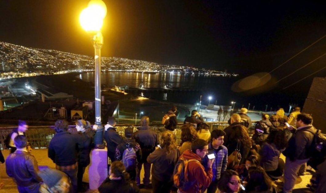Φονικός σεισμός 8,3 Ρίχτερ στη Χιλή: 5 νεκροί, ένα εκατομμύριο άστεγοι & φόβοι για Τσουνάμι - Κυρίως Φωτογραφία - Gallery - Video
