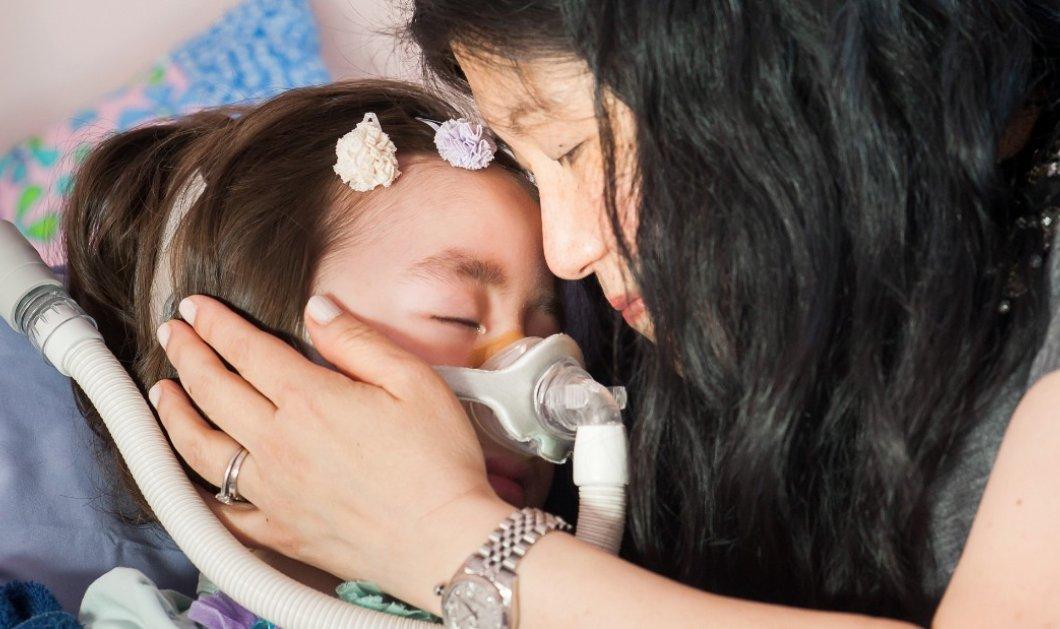 5χρονη Julianna Snow με ανίατη ασθένεια, ζήτησε από τους γονείς της να την αφήσουν να πεθάνει - Κυρίως Φωτογραφία - Gallery - Video