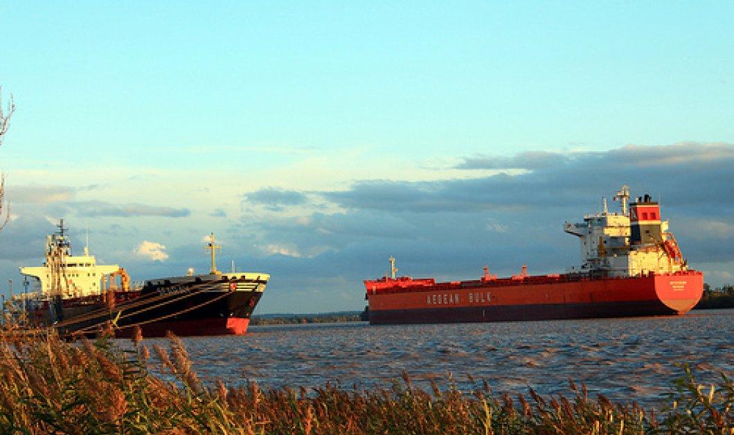 Φορτηγό με 9 Έλληνες συγκρούστηκε με άλλο πλοίο έξω από τη Σιγκαπούρη - Κυρίως Φωτογραφία - Gallery - Video