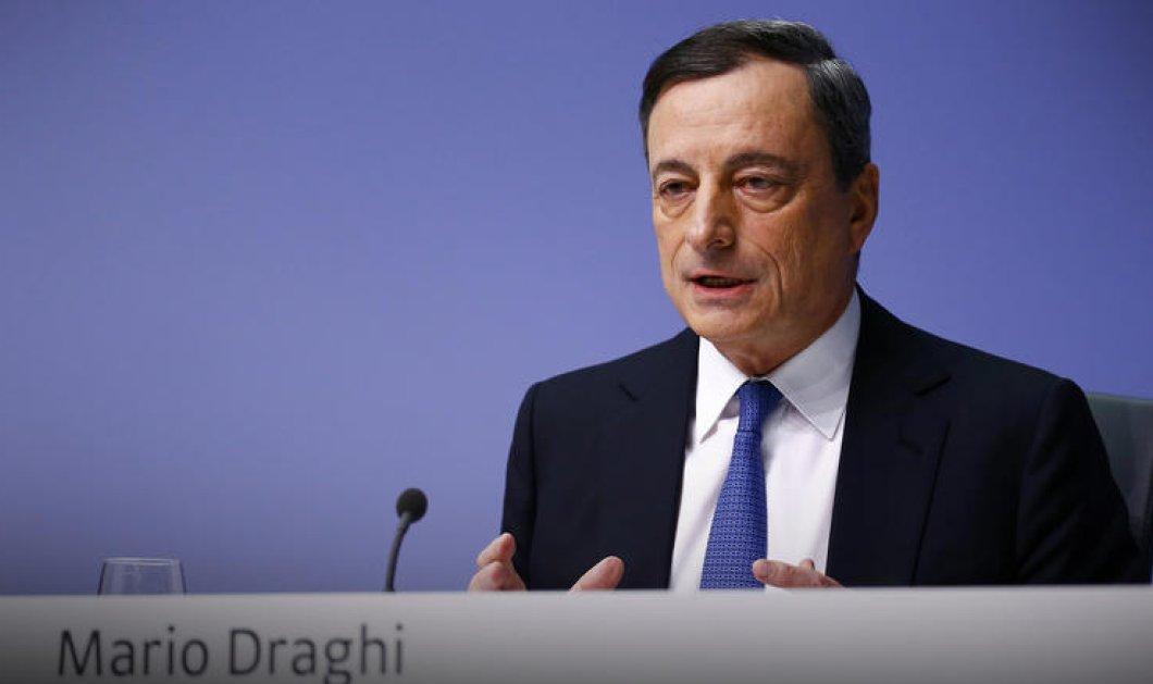 """Μ. Ντράγκι: """"Έλληνες μην αφήσετε να σας κυριεύσει ξανά η απόγνωση»- Ναι να υπάρξει ελάφρυνση χρέους"""" - Κυρίως Φωτογραφία - Gallery - Video"""