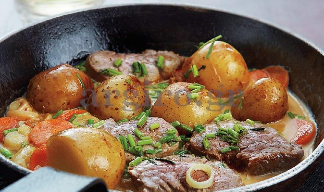 Ψαρονέφρι με πατάτες & κρεμώδη σάλτσα- όνειρο της Αργυρώς: Μια συνταγή που θα λατρέψετε - Κυρίως Φωτογραφία - Gallery - Video