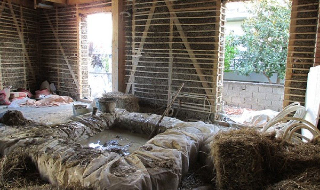 Βόλος: Αυτό είναι το πρώτο σπίτι που... αναπνέει - Μοναδική δημιουργία της Βάνας Γεωργαλά (Φωτό)! - Κυρίως Φωτογραφία - Gallery - Video