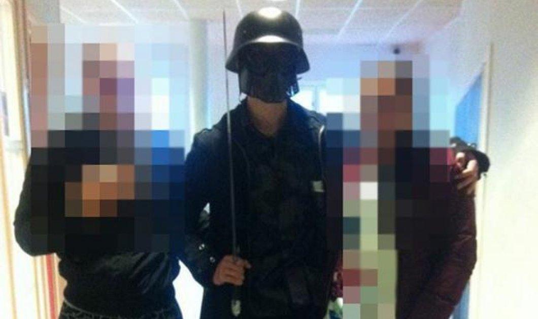 Σοκ στη Σουηδία: Ακροδεξιός ο «Darth Vader» μασκοφόρος με το σπαθί που αιματοκύλισε σχολείο - Κυρίως Φωτογραφία - Gallery - Video