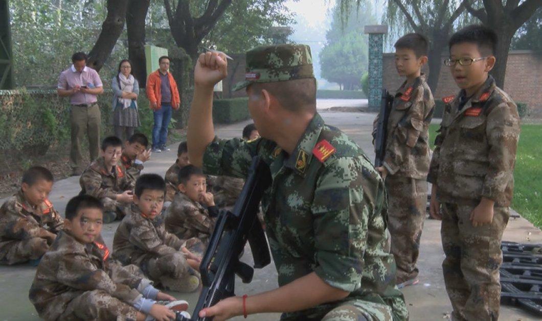Μαθήματα πολέμου σε πιτσιρίκια & εκπαίδευση στα όπλα για να απεξαρτηθούν από τους υπολογιστές  - Κυρίως Φωτογραφία - Gallery - Video