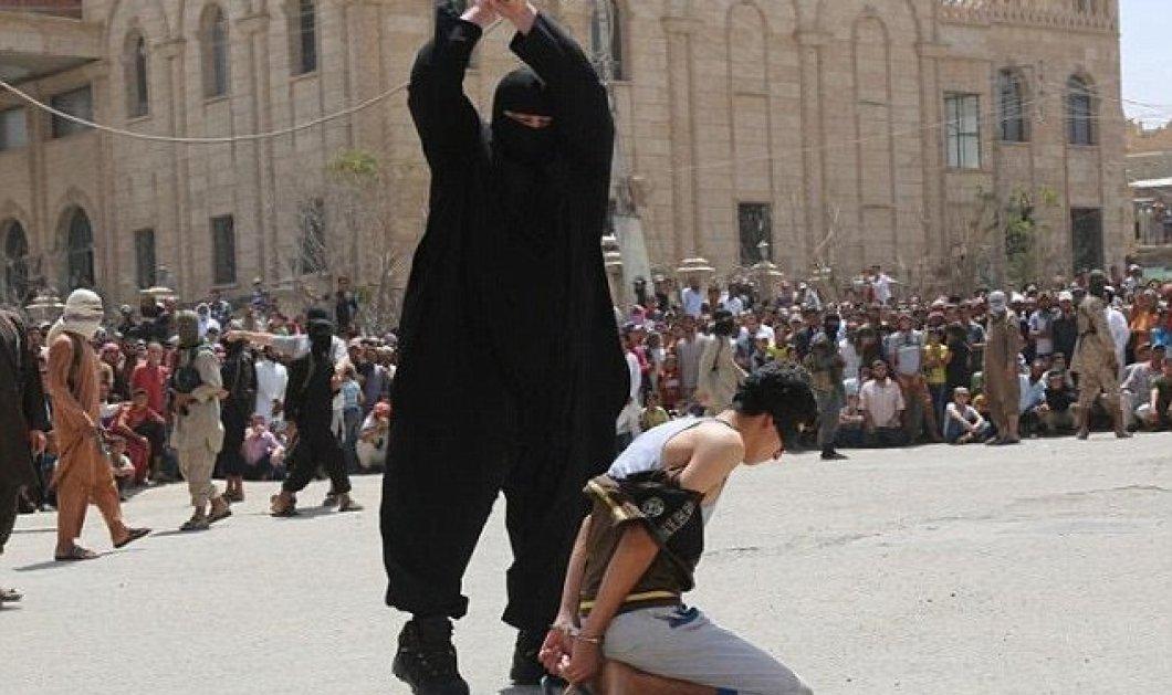 Ο «μεγαλόσωμος» εκτελεστής του ISIS που αποκεφαλίζει και ακρωτηριάζει  - Κυρίως Φωτογραφία - Gallery - Video