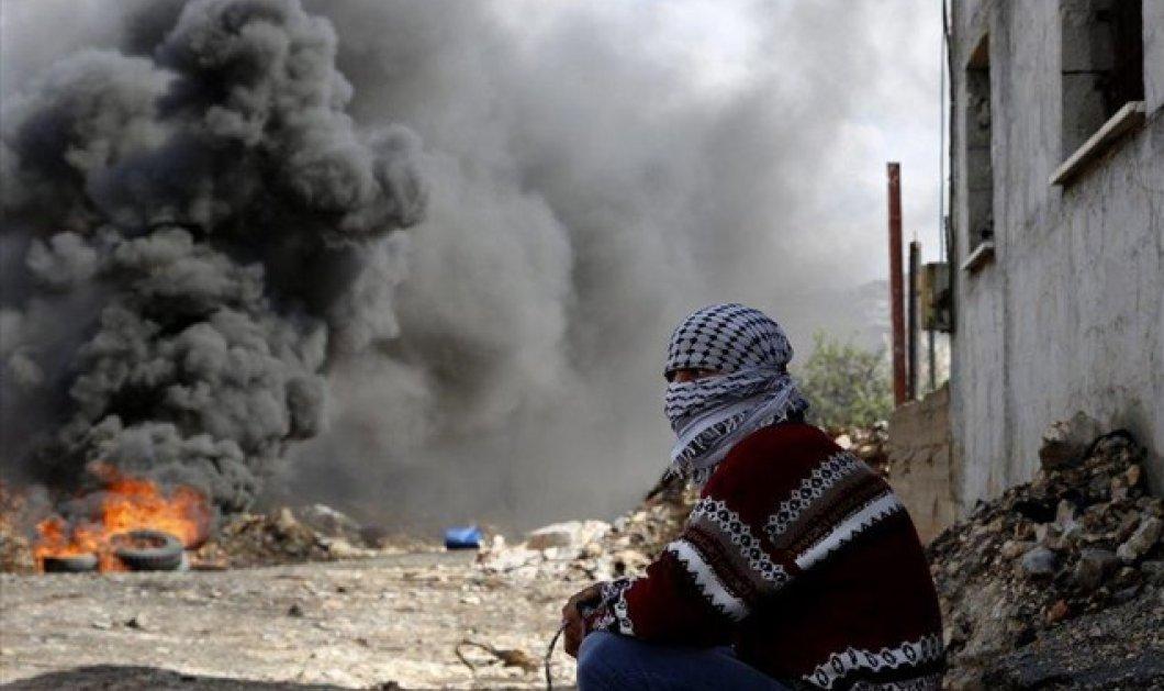Νεκρό από δακρυγόνα μωρό στη Βηθλεέμ - Ισραηλινό τζιπ πάτησε σκόπιμα Παλαιστίνιο - Κυρίως Φωτογραφία - Gallery - Video