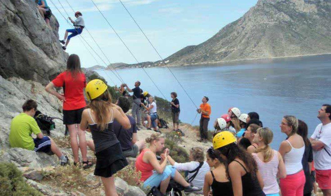 Good News: η Κάλυμνος Παγκόσμιο κέντρο αναρρίχησης  - εκατοντάδες τουρίστες - αθλητές μέσα στον Οκτώβριο - Κυρίως Φωτογραφία - Gallery - Video