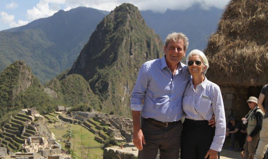 H Κριστίν Λαγκάρντ στον χορό του διαβόλου! Τουρίστρια στο Περού χαλαρώνει (επιτέλους) & γίνεται ένας κανονικός άνθρωπος - Κυρίως Φωτογραφία - Gallery - Video
