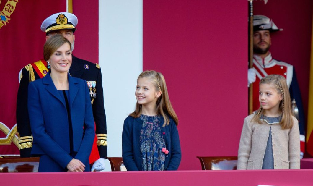Τα βλέμματα έκλεψαν οι δύο μίνι πριγκίπισσες της Ισπανίας Σοφία & Λεονόρ: Κομψές & τρισχαριτωμένες - Κυρίως Φωτογραφία - Gallery - Video