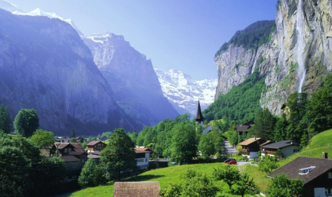 Πάμε στο Lauterbrunnen: Το μαγευτικό χωριό των Άλπεων που μοιάζει να έχει βγει από παραμύθι! - Κυρίως Φωτογραφία - Gallery - Video