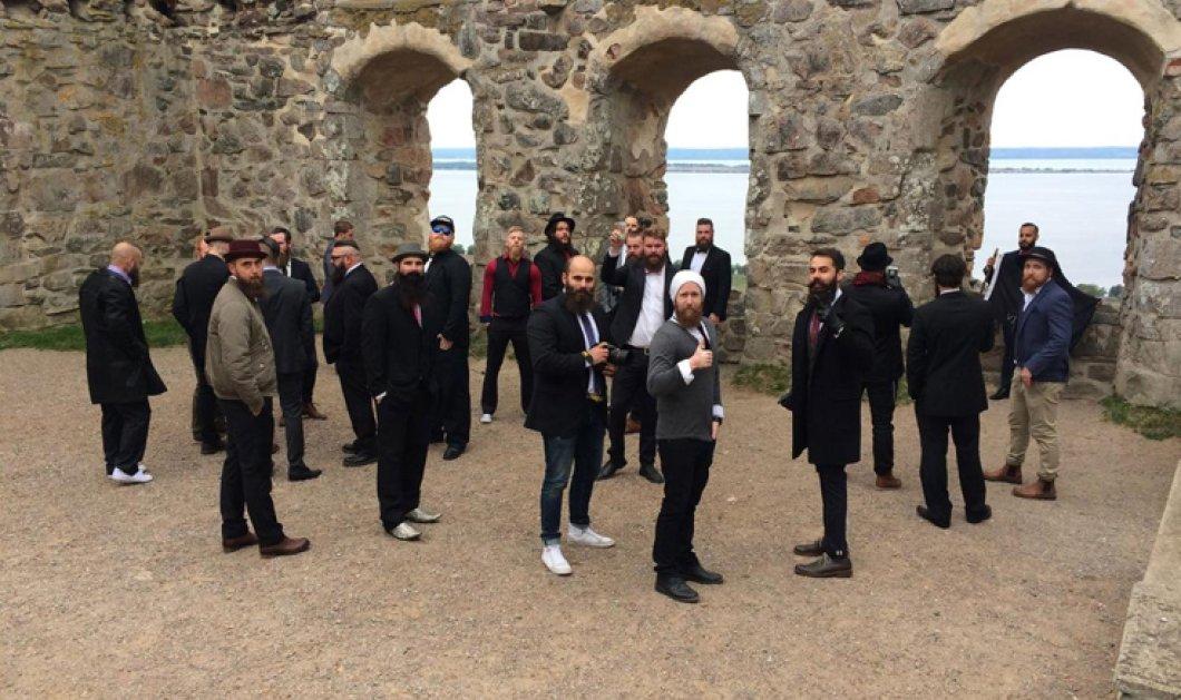Γκάφα ολκής στη Σουηδία: Πέρασαν για τζιχαντιστές μουσάτους άντρες που είχαν μαζευτεί για.... συνέδριο! - Κυρίως Φωτογραφία - Gallery - Video