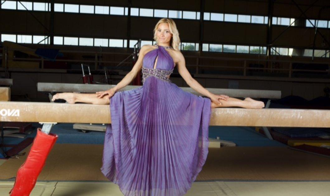 Τοp Woman η Ολυμπιονίκης της γυμναστικής  Βάσω Μιλλούση - γυναίκα πάνθηρας  της δοκού: Στα 30 κάνει ρεκόρ σαν 15χρονη  - Κυρίως Φωτογραφία - Gallery - Video