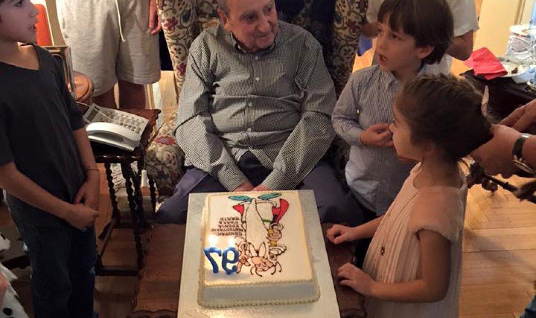 Πως γιόρτασε ο Κων. Μητσοτάκης τα 97α γενέθλια του – Τι έγραφε τι τούρτα έκπληξη  - Κυρίως Φωτογραφία - Gallery - Video