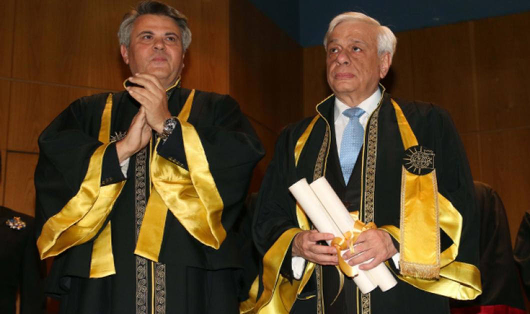 Επίτιμος διδάκτορας του πανεπιστημίου Μακεδονίας αναγορεύθηκε ο πρόεδρος της Δημοκρατίας Προκόπης Παυλόπουλος - Κυρίως Φωτογραφία - Gallery - Video