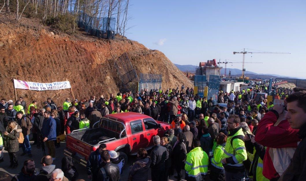"""Το ΣτΕ """"ανοίγει"""" ξανά τα μεταλλεία στις Σκουριές Χαλκιδικής - Προσωρινή αναστολή της απόφασης Σκουρλέτη - Κυρίως Φωτογραφία - Gallery - Video"""