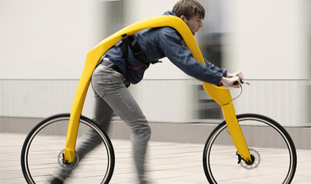 Βίντεο:  Γερμανοί δημιούργησαν ποδήλατο  χωρίς πετάλια και σέλα- Δείτε το!  - Κυρίως Φωτογραφία - Gallery - Video