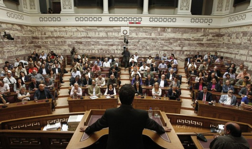 Ο Τάσος, η Τασία & ο Βαρεμένος: O Τσίπρας επέλεξε τους 3 αντιπρόεδρους της Βουλής από τον ΣΥΡΙΖΑ - Κυρίως Φωτογραφία - Gallery - Video
