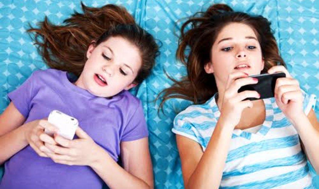 Tα μηνύματα από κινητά ρίχνουν την απόδοση των μαθητών, βλάπτουν τον ύπνο τους    - Κυρίως Φωτογραφία - Gallery - Video