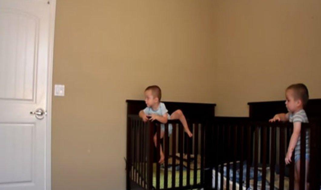 Smile βίντεο: Η μεγάλη απόδραση 2 χαριτωμένων μωρών από την... κούνια - Κυρίως Φωτογραφία - Gallery - Video