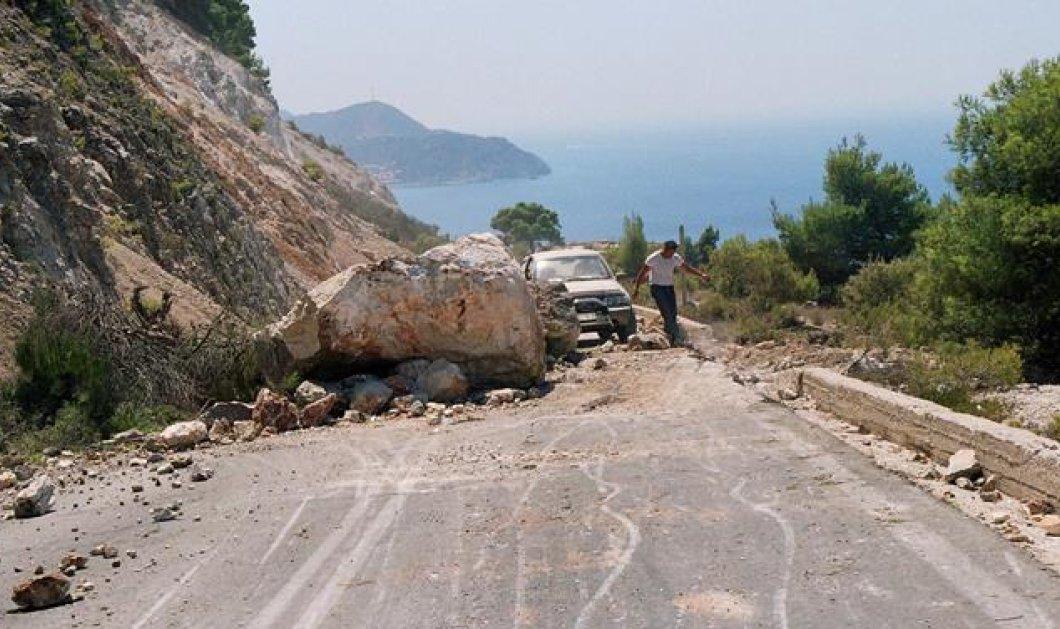 Δύο νεκροί από τον σεισμό των 6,1 Ρίχτερ στη Λευκάδα- Προκλήθηκαν πολλές ζημιές στο νησί  - Κυρίως Φωτογραφία - Gallery - Video