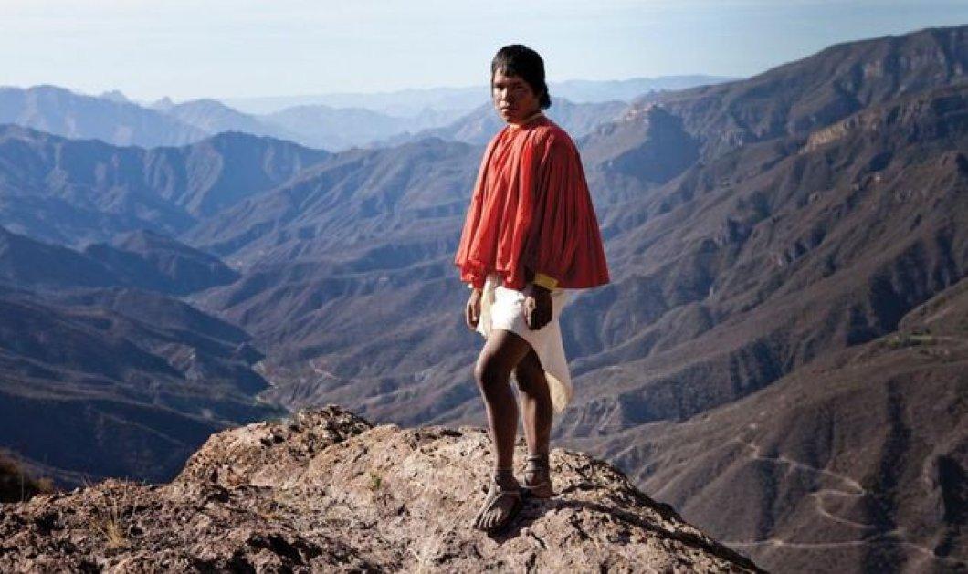 Ταραουμάρα: Η 'αόρατη' φυλή Ινδιάνων, οι μεγαλύτεροι δρομείς όλων των εποχών- τρέχει μαραθώνιους σε ρυθμούς σπριντ!  - Κυρίως Φωτογραφία - Gallery - Video